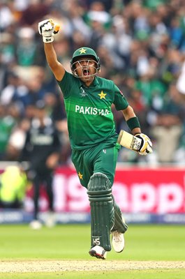 Babar Azam Pakistan Century v New Zealand World Cup 2019