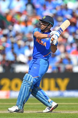 MS Dhoni India v West Indies Old Trafford World Cup 2019