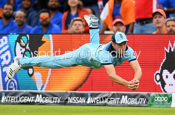 Chris Woakes Catch England v India Edgbaston World Cup 2019