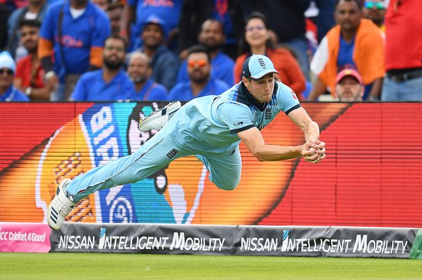 Chris Woakes Diving Catch England v India Edgbaston World Cup 2019
