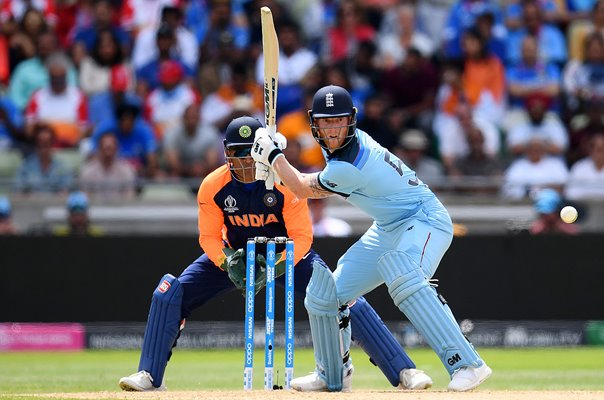 Ben Stokes England v India Edgbaston World Cup 2019