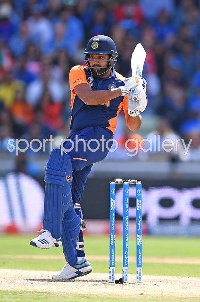 Rohit Sharma India v England Edgbaston World Cup 2019