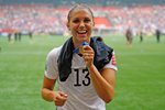 Alex Morgan USA World Football Champions Vancouver 2015 Prints