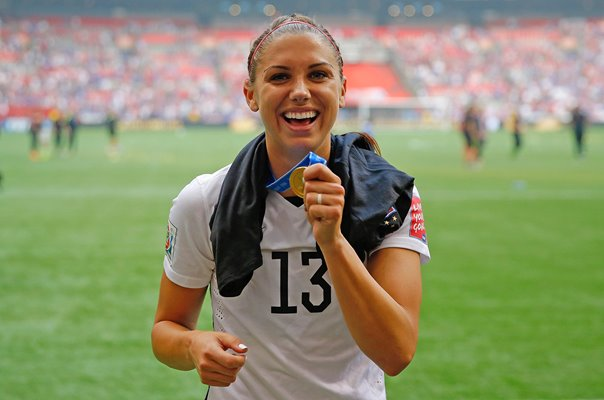 Alex Morgan USA World Football Champions Vancouver 2015
