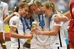 Alex Morgan, Lauren Holiday, Abby Wambach & Whitney Engen USA 2015 Prints