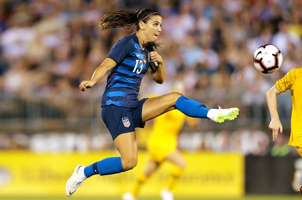 Alex Morgan USA v Australia Tournament of Nations 2018