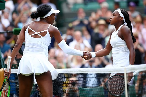 Cori Gauff beats Venus Williams Wimbledon 2019
