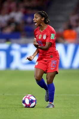 Crystal Dunn USA v England World Cup Semi Final 2019