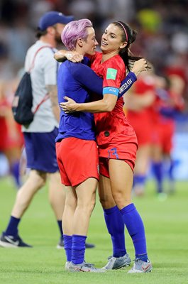 Megan Rapinoe & Alex Morgan USA Semi Final win World Cup 2019