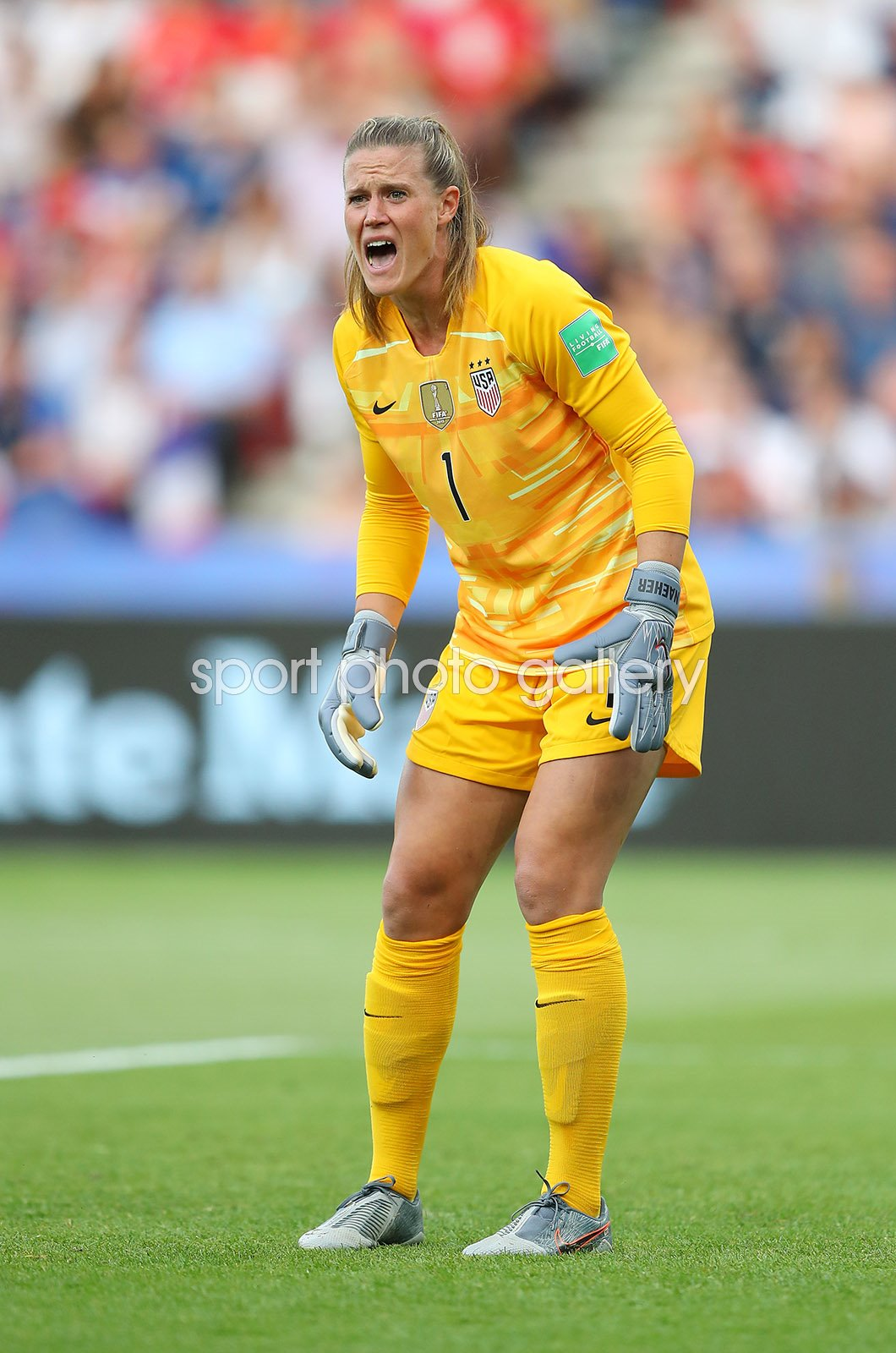 Alyssa Naeher USA Goal Keeper v France World Cup 2019