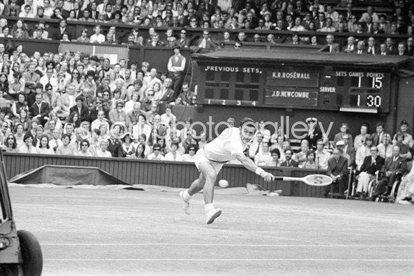 Wimbledon Print | Tennis Posters | Ken Rosewall