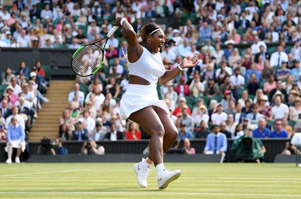 Serena Williams United States Forehand Wimbledon 2019