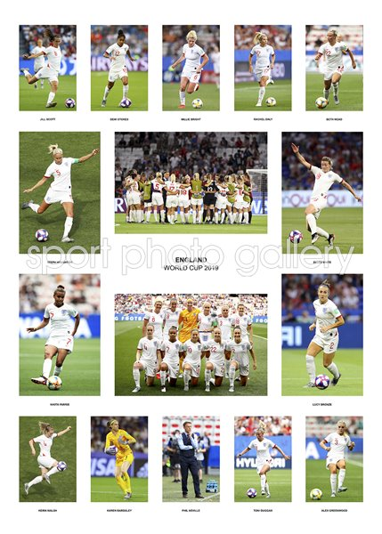England Women's World Cup 2019 Team Special