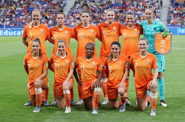 Netherlands Team v Sweden Semi Final Lyon World Cup 2019