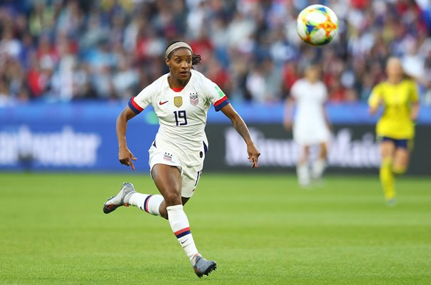 Crystal Dunn USA v Sweden Group F World Cup 2019