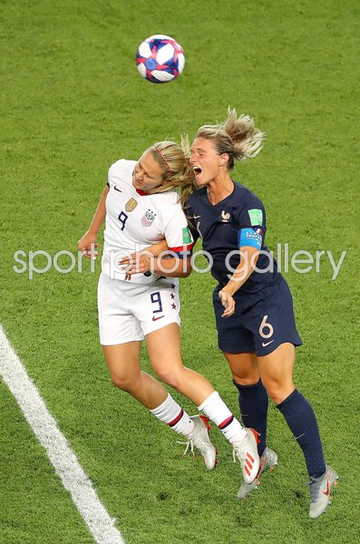 Lindsey Horan v Amandine Henry USA v France World Cup 2019