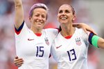 Megan Rapinoe & Alex Morgan USA World Cup Winners 2019 Prints