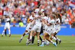 Rose Lavelle USA celebrates World Cup Final Goal Lyon 2019 Prints
