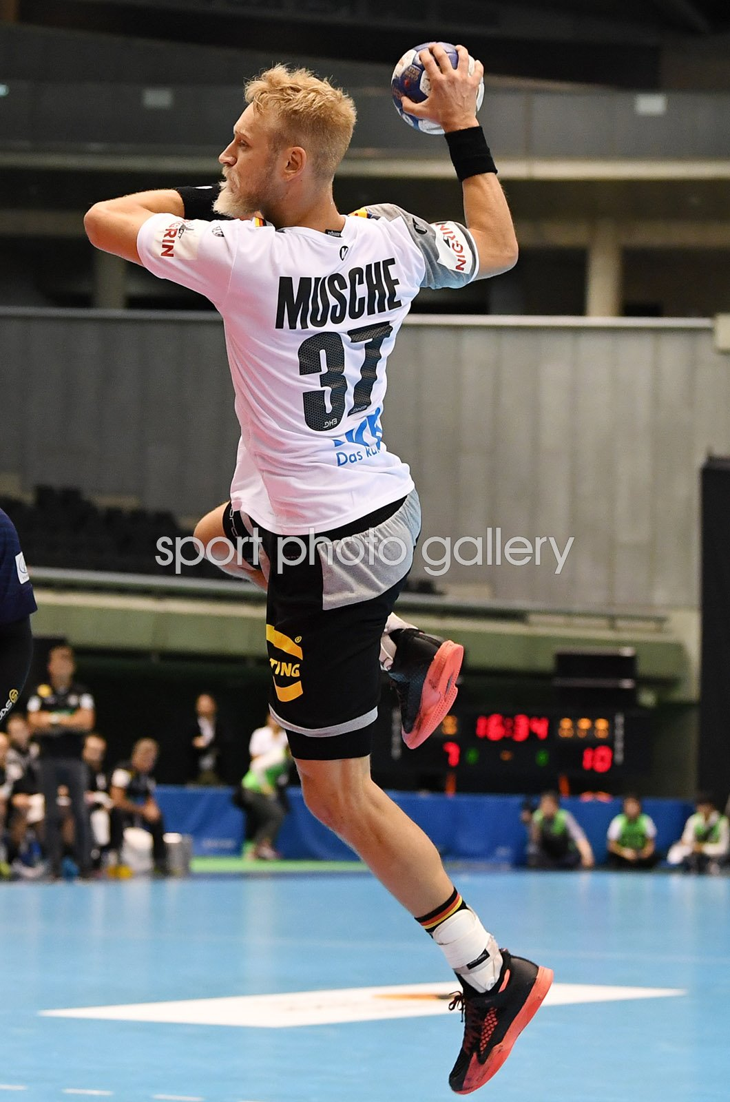Matthias Musche Germany v Japan Handball International 2018