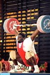 Mark Henry Super Heavyweight Weightlifter Melbourne 1993 Prints