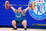 Holley Mangold USA Weightlifting World Championships Houston 2015 Prints
