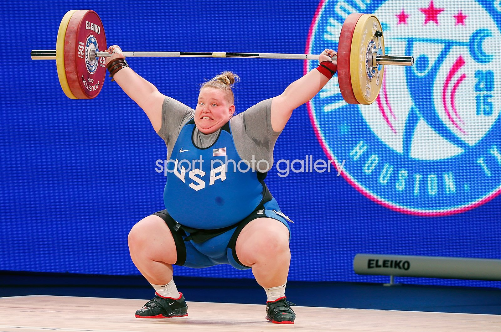 Holley Mangold USA Weightlifting World Championships Houston 2015
