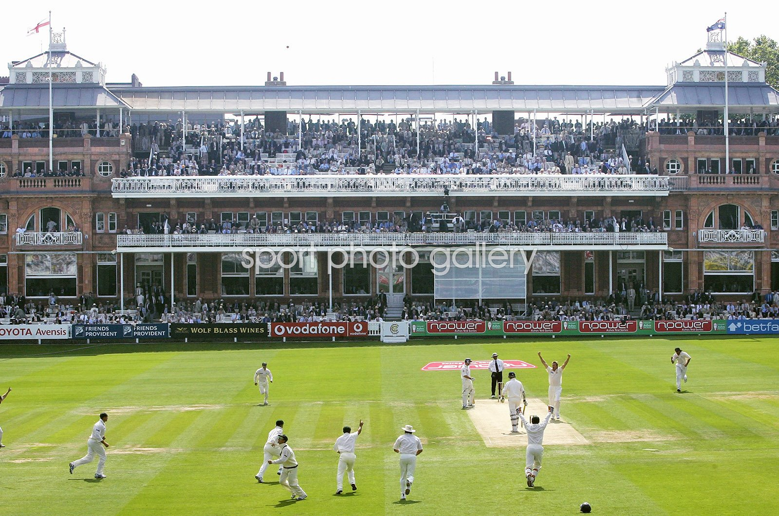 Glenn McGrath Australia 500th career Test wicket Lord's 2005