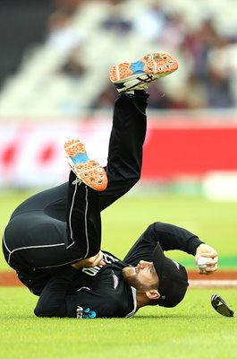 Kane Williamson Catch v India World Cup 2019 Semi-Final