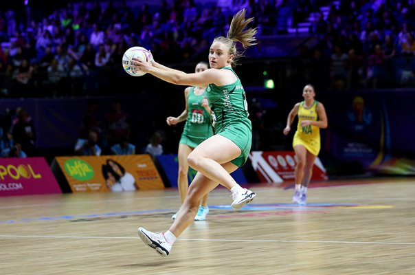 Neamh Woods Northern Ireland v Australia Netball World Cup 2019