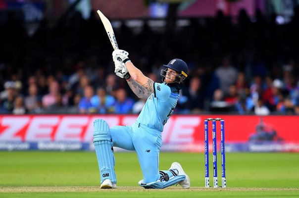 Ben Stokes England Six v New Zealand World Cup Final 2019