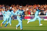Jos Buttler England runs out Guptill to win World Cup Lord's 2019  Prints