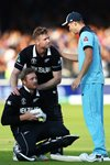 Chris Woakes England consoles Martin Gupthill New Zealand Lord's 2019  Prints