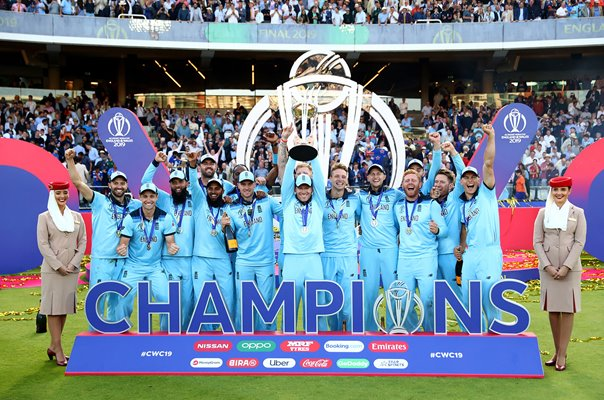 England World Champions World Cup Final Lord's 2019