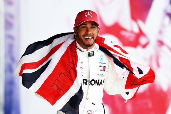 Lewis Hamilon F1 Grand Prix Great Britain Winner
