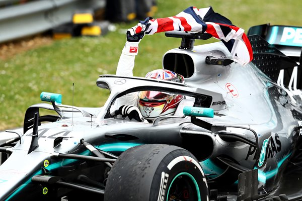 Lewis Hamilton Mercedes F1 British GP Winner