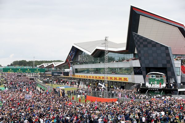 Track Invasion F1 Grand Prix of Great Britain 2019