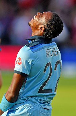 Jofra Archer England relief Super Over World Cup 2019 Final