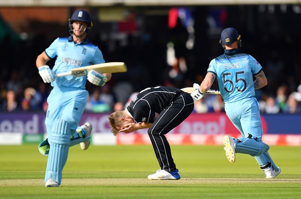 Jos Buttler & Ben Stokes England Super Over World Cup Final 2019
