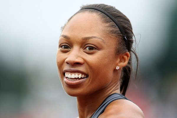 Allyson Felix USA Athletics Trials Oregon 2012