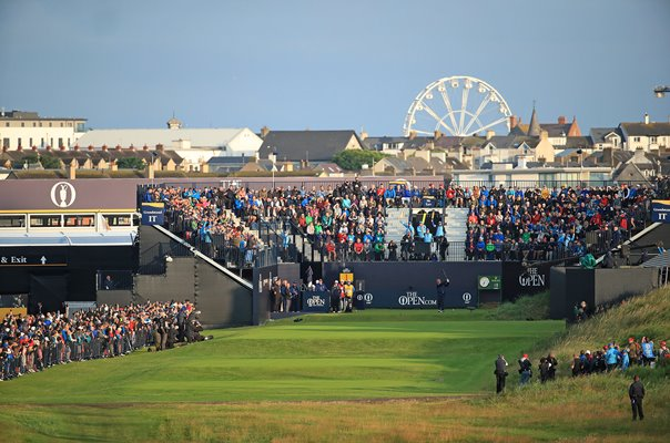 Darren Clarke Northern Ireland Opening Tee Shot Royal Portrush 2019