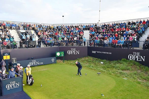Darren Clarke Northern Ireland 1st Tee Shot Royal Portrush 2019