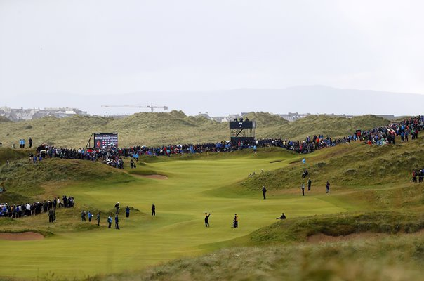 7th Hole Dunluce Links Royal Portrush Open Championship 2019
