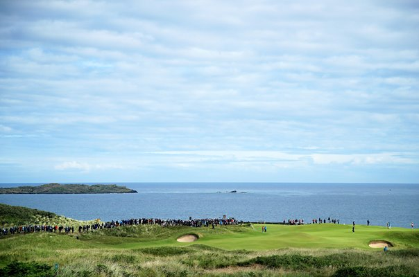5th Hole Royal Portrush Open Championship 2019