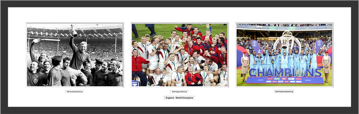 England Football Rugby Cricket World Champions Special