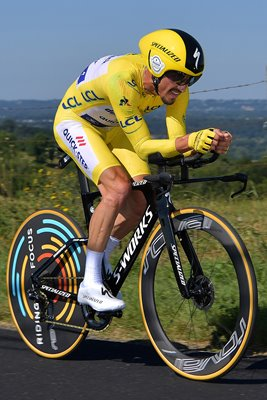 Julian Alaphilippe France Time Trial Stage 13 Tour de France 2019