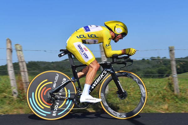 Julian Alaphilippe France Time Trial Pau Tour de France 2019