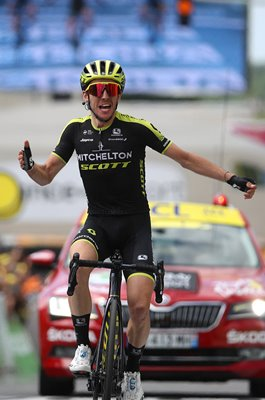 Simon Yates Great Britain wins Stage 12 Tour de France 2019