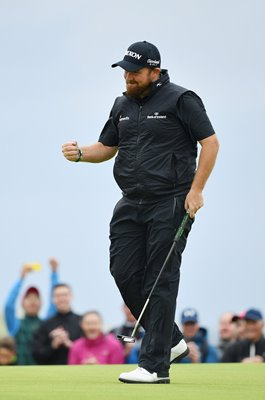 Shane Lowry Ireland Birdie 15th Final Round Open Golf 2019