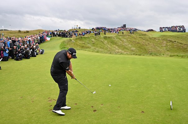 Shane Lowry Ireland 16th Hole Final Round British Open 2019
