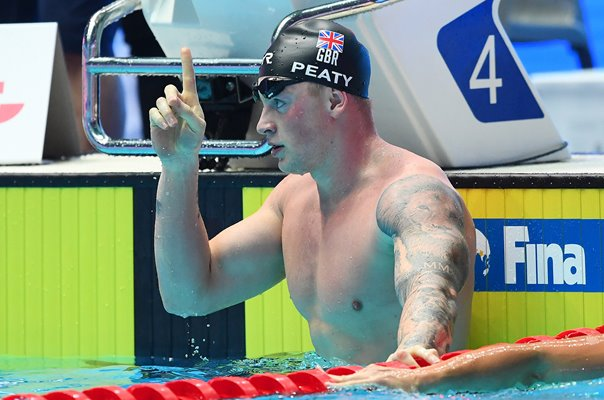 Adam Peaty swims 56.88 World Record World Championships 2019